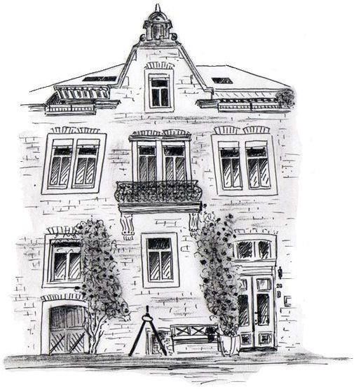 Weingut Hallenbach Bild Logo Haus